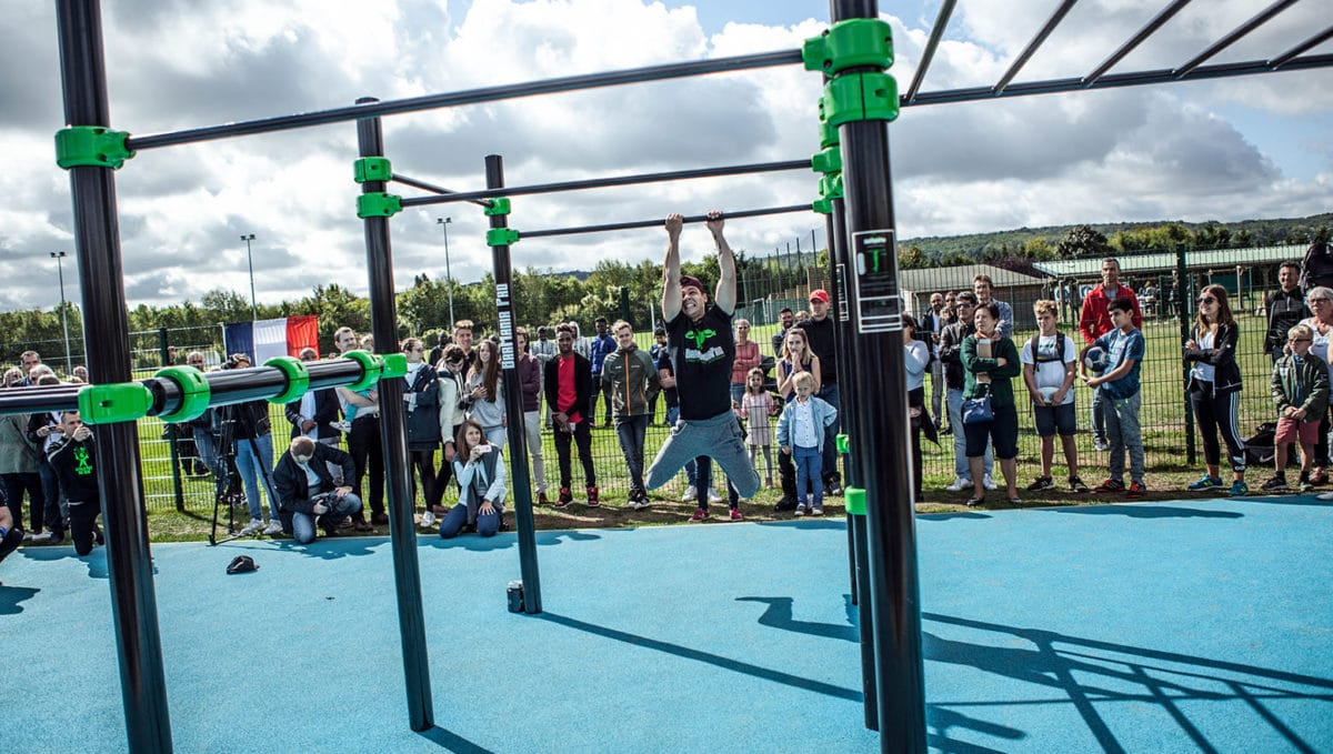streetworkout, slider