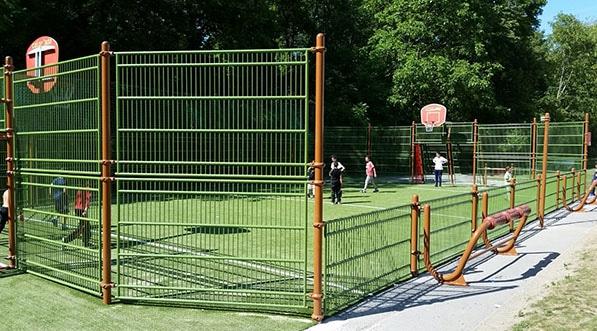 Terrain multisports Husson pour la commune de Gaillard