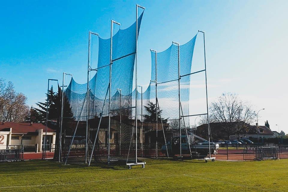 Cage de lancer