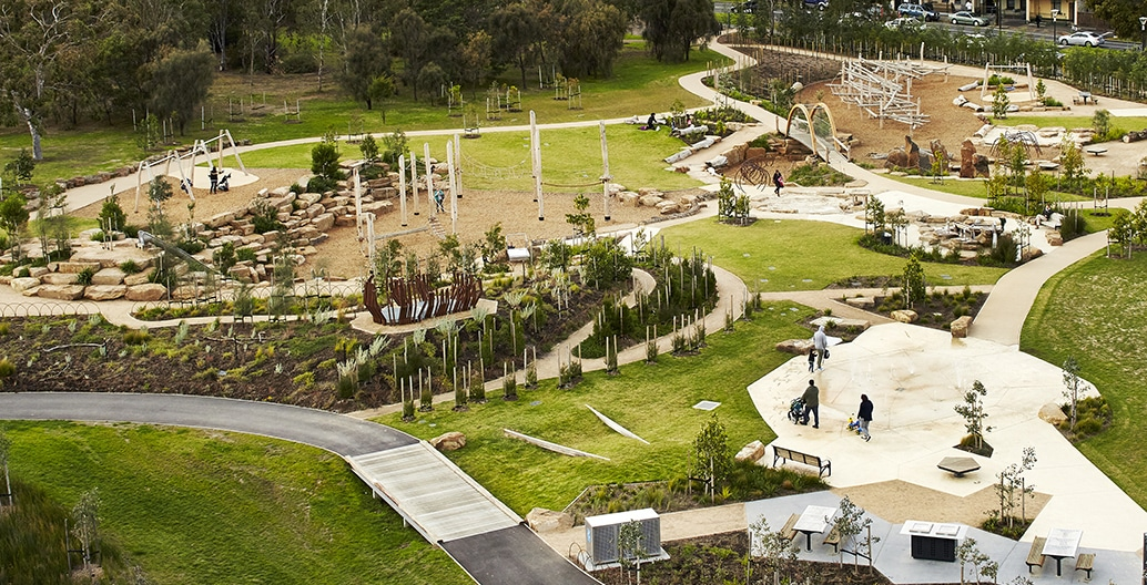 Le plus grand royal Park Nature Play à Melbourne