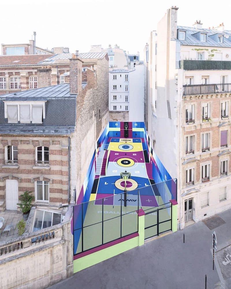 ill-studio-terrain de basket - paris