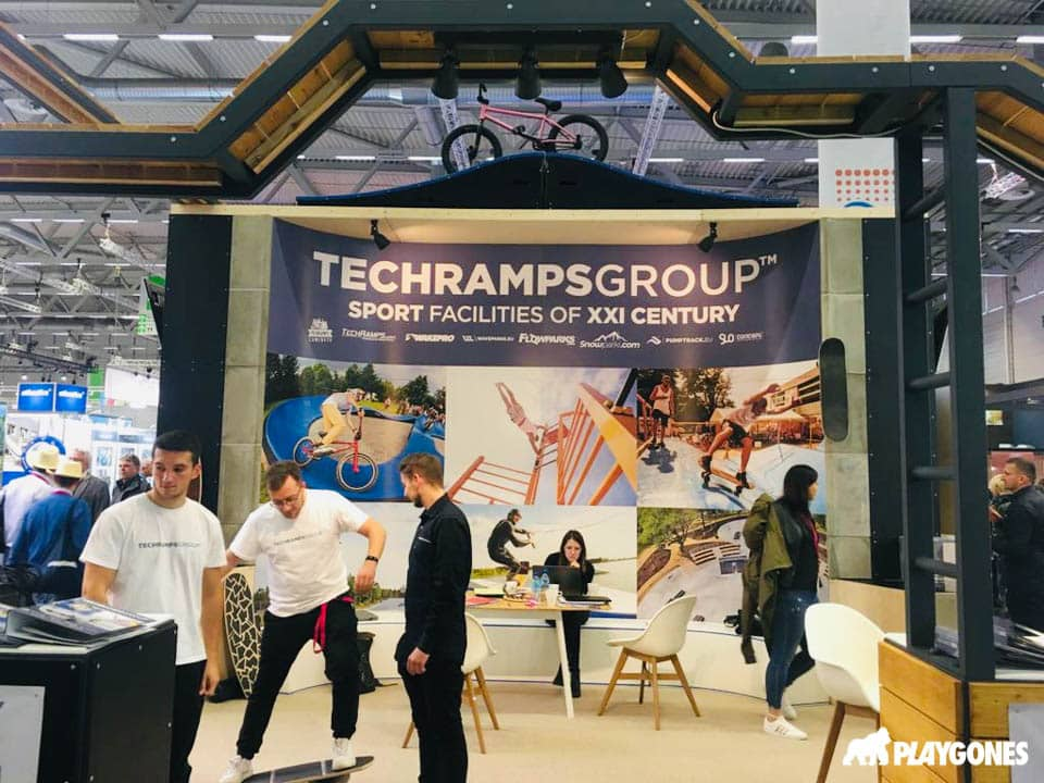 Techramps Group - Distribution exclusive en France par Playgones