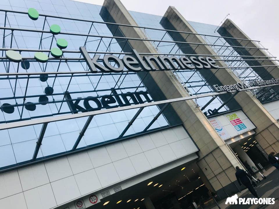 Façade du Koelnmesse de Cologne lors du FSB 2019