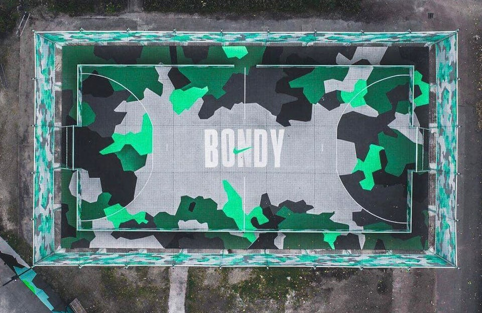 Agence Yard pour Hypecourt par Nike, Bondy