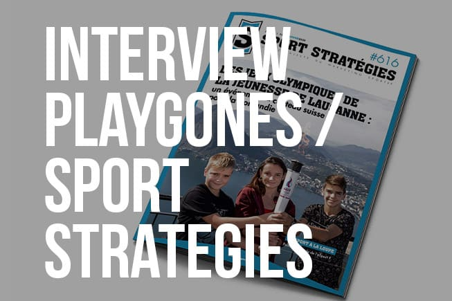 IntervIew Playgones - Sport Strategies