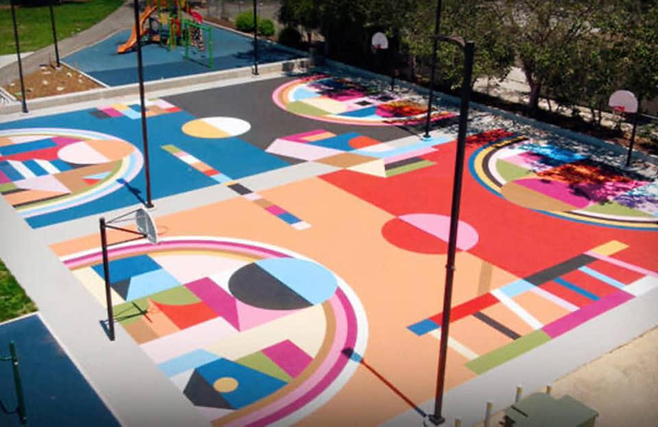 Muzae Sesay - Project Backboard -Rainbow Recreation Center à Oakland