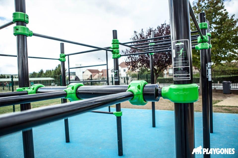 Aire de street workout de Poissy en Ile De France