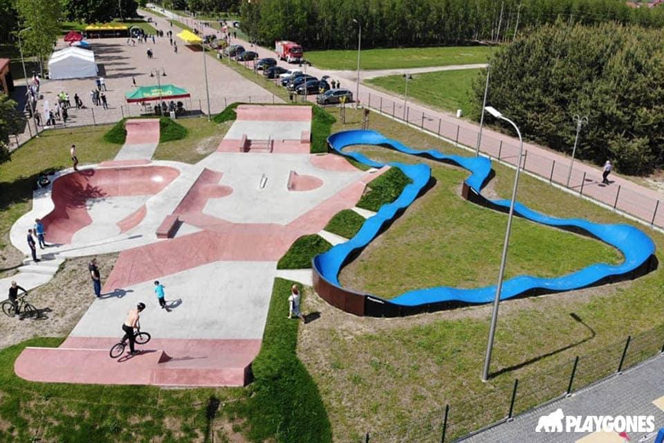Skatepark beton et pumptrack, l'offre loisirs