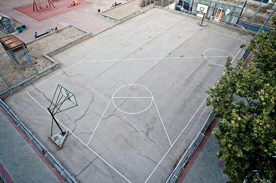 Un playground dé-tracé par Urban spy