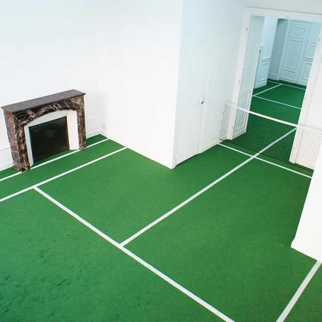 Le tennis d'appartement par Benedetto Bufalino