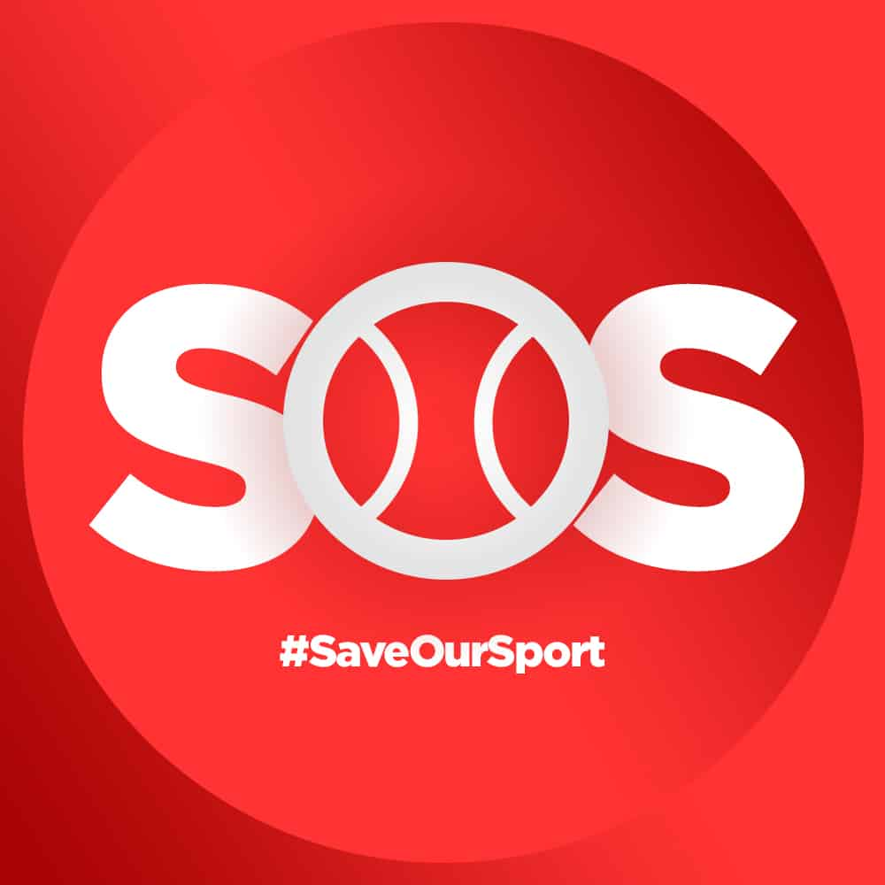 SOS Tennis - #saveoursport