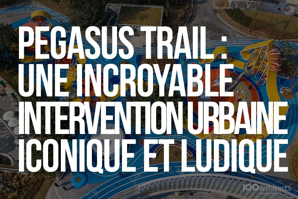 Pegasus Trail, une incroyable intervention urbaine iconique et ludique